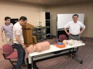 2019年6月8日(土)札幌市内にて、北日本口腔インプラント研究会(NIS)主催:AHA(American Heart Association)ライセンス更新に行って参りました。